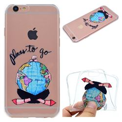 Global Travel Super Clear Soft TPU Back Cover for iPhone 6s 6 6G(4.7 inch)
