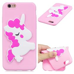 Pony Soft 3D Silicone Case for iPhone 6s 6 6G(4.7 inch)