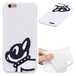 Cute Dog Soft 3D Silicone Case for iPhone 6s 6 6G(4.7 inch)