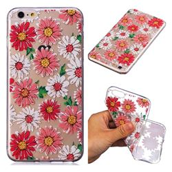 Chrysant Flower Super Clear Soft TPU Back Cover