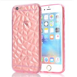 Diamond Pattern Shining Soft TPU Phone Back Cover for iPhone 6s 6 6G(4.7 inch) - Pink