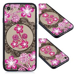 Daffodil Lace Diamond Flower Soft TPU Back Cover for iPhone 6s 6 6G(4.7 inch)