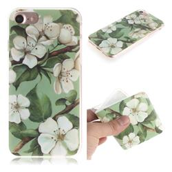 Watercolor Flower IMD Soft TPU Cell Phone Back Cover for iPhone 6s 6 6G(4.7 inch)