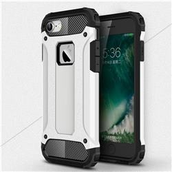 King Kong Armor Premium Shockproof Dual Layer Rugged Hard Cover for iPhone 6s 6 6G(4.7 inch) - White