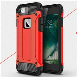 King Kong Armor Premium Shockproof Dual Layer Rugged Hard Cover for iPhone 6s 6 6G(4.7 inch) - Big Red