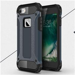 King Kong Armor Premium Shockproof Dual Layer Rugged Hard Cover for iPhone 6s 6 6G(4.7 inch) - Navy