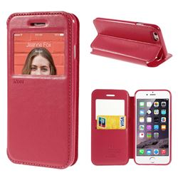 Roar Korea Noble View Leather Flip Cover for iPhone 6 (4.7 inch) - Rose