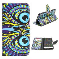 Owl Leather Wallet Case for iPhone 6 (4.7 inch)