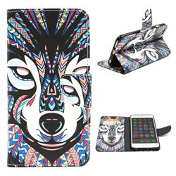 Wolf Leather Wallet Case for iPhone 6 (4.7 inch)