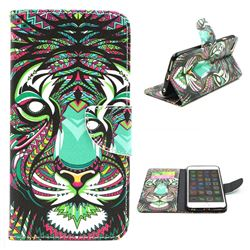 Tiger Leather Wallet Case for iPhone 6 (4.7 inch)