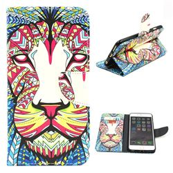 Lion Leather Wallet Case for iPhone 6 (4.7 inch)