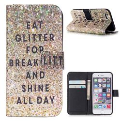 Shine All Day Leather Wallet Case for iPhone 6 (4.7 inch)