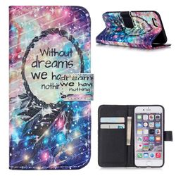 Do Have Dreams Leather Wallet Case for iPhone 6 (4.7 inch)