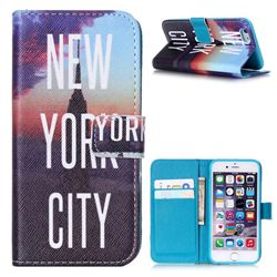 New York City Leather Wallet Case for iPhone 6 (4.7 inch)