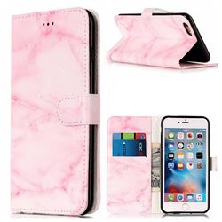 Pink Marble PU Leather Wallet Case for iPhone 6s 6 (4.7 inch)