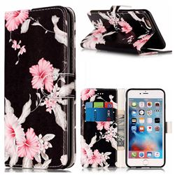 Azalea Flower PU Leather Wallet Case for iPhone 6s 6 (4.7 inch)