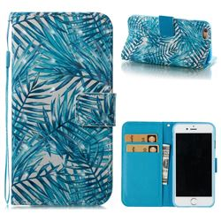 Banana Leaves 3D Painted Leather Wallet Case for iPhone 6s 6 6G(4.7 inch)