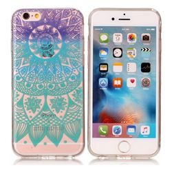 Mandala Wind Chimes Super Clear Soft TPU Back Cover for iPhone 6s Plus / 6 Plus 6P(5.5 inch)