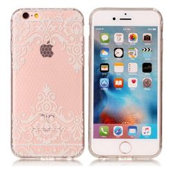Diagonal Lace Super Clear Soft TPU Back Cover for iPhone 6s Plus / 6 Plus 6P(5.5 inch)