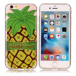 Big Pineapple Super Clear Soft TPU Back Cover for iPhone 6s Plus / 6 Plus 6P(5.5 inch)