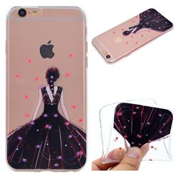 Wedding Girl Super Clear Soft TPU Back Cover for iPhone 6s Plus / 6 Plus 6P(5.5 inch)