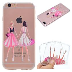 Maiden Honey Super Clear Soft TPU Back Cover for iPhone 6s Plus / 6 Plus 6P(5.5 inch)