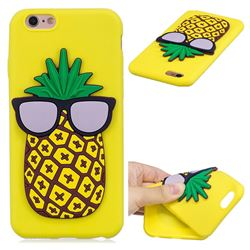 Pineapple Soft 3D Silicone Case for iPhone 6s Plus / 6 Plus 6P(5.5 inch)