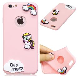 Kiss me Pony Soft 3D Silicone Case for iPhone 6s Plus / 6 Plus 6P(5.5 inch)