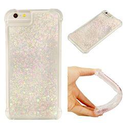 Dynamic Liquid Glitter Sand Quicksand Star TPU Case for iPhone 6s Plus / 6 Plus 6P(5.5 inch) - Pink