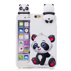 Panda Girl Soft 3d Climbing Doll Soft Case For Iphone 6s Plus 6