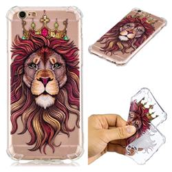 Lion King Anti-fall Clear Varnish Soft TPU Back Cover for iPhone 6s Plus / 6 Plus 6P(5.5 inch)