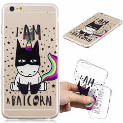 Batman Clear Varnish Soft Phone Back Cover for iPhone 6s Plus / 6 Plus 6P(5.5 inch)