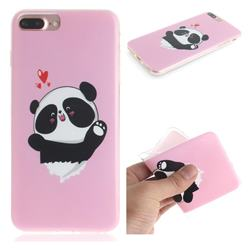Heart Cat IMD Soft TPU Cell Phone Back Cover for iPhone 6s Plus / 6 Plus 6P(5.5 inch)