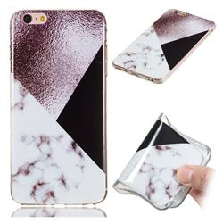 Black white Grey Soft TPU Marble Pattern Phone Case for iPhone 6s Plus / 6 Plus 6P(5.5 inch)
