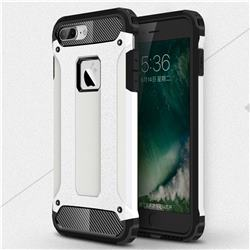 King Kong Armor Premium Shockproof Dual Layer Rugged Hard Cover for iPhone 6s Plus / 6 Plus 6P(5.5 inch) - White