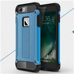 King Kong Armor Premium Shockproof Dual Layer Rugged Hard Cover for iPhone 6s Plus / 6 Plus 6P(5.5 inch) - Sky Blue