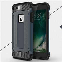King Kong Armor Premium Shockproof Dual Layer Rugged Hard Cover for iPhone 6s Plus / 6 Plus 6P(5.5 inch) - Navy