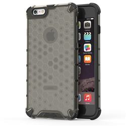 Honeycomb TPU + PC Hybrid Armor Shockproof Case Cover for iPhone 6s Plus / 6 Plus 6P(5.5 inch) - Gray