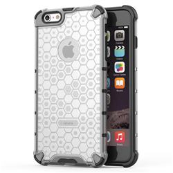 Honeycomb TPU + PC Hybrid Armor Shockproof Case Cover for iPhone 6s Plus / 6 Plus 6P(5.5 inch) - Transparent