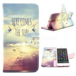 The Sunrise Leather Wallet Case for iPhone 6 Plus (5.5 inch)