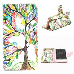 The Tree of Life Leather Wallet Case for iPhone 6 Plus (5.5 inch)