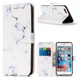 reputable site a2283 99a83 Soft White Marble PU Leather Wallet Case for iPhone 6s Plus 6 Plus(5.5 inch)