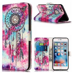 Butterfly Chimes PU Leather Wallet Case for iPhone 6s Plus 6 Plus(5.5 inch)