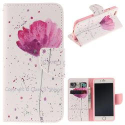 Purple Orchid PU Leather Wallet Case for iPhone 6s Plus / 6 Plus 6P(5.5 inch)