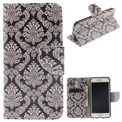 Totem Flowers PU Leather Wallet Case for iPhone 6s Plus / 6 Plus 6P(5.5 inch)