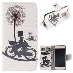 Cycling Dandelion PU Leather Wallet Case for iPhone 6s Plus / 6 Plus 6P(5.5 inch)