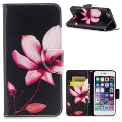 Lotus Flower Leather Wallet Case for iPhone 6s Plus / 6 Plus 6P(5.5 inch)