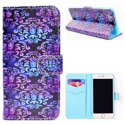 Royal Mandala Flower Stand Leather Wallet Case for iPhone 6s Plus / 6 Plus 6P(5.5 inch)