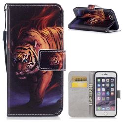 Mighty Tiger PU Leather Wallet Case for iPhone 6s Plus / 6 Plus 6P(5.5 inch)