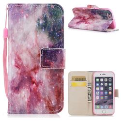 Cosmic Stars PU Leather Wallet Case for iPhone 6s Plus / 6 Plus 6P(5.5 inch)